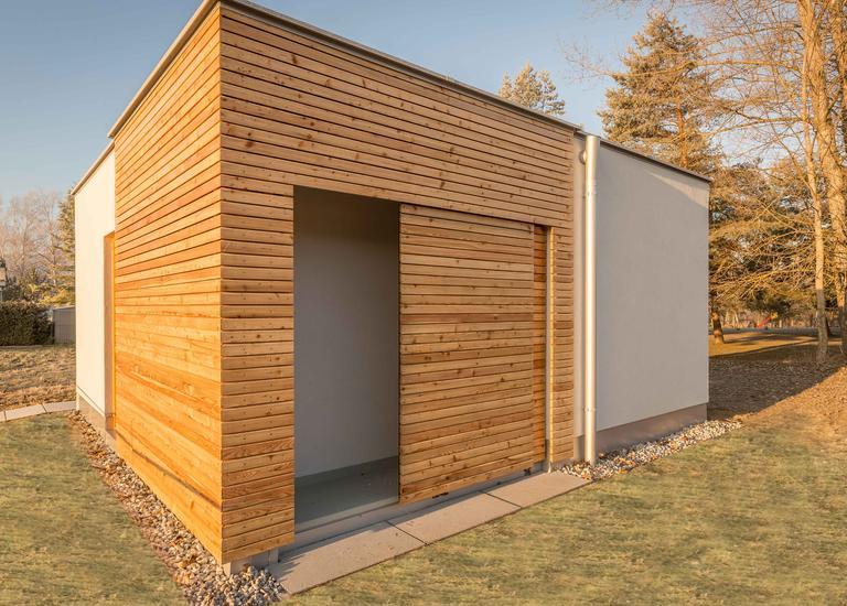 Holzbau Gollubits produziert Mobilheime für KARDEA