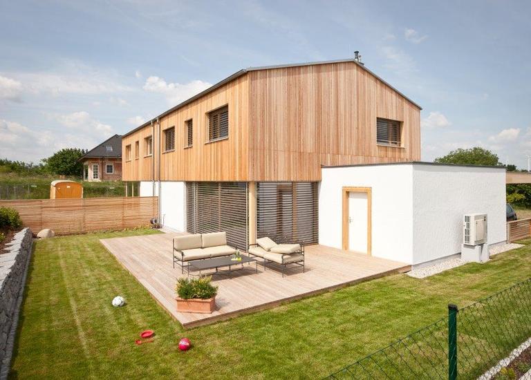 Holzbaupreis 2016 Burgenland Doppelhausanlage Pöttelsdorf
